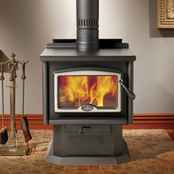 Osburn 1600 Wood Stove - With its perfect balance between power, efficiently and cleanliness, the Osburn 1600 Wood Stove is truly unique. This unit is able to heat up to 1,800 square feet with a performance of 65,000 BTUs/hour it is also environmentally friendly with emissions as low as .87 g/hour, well below EPA standards.