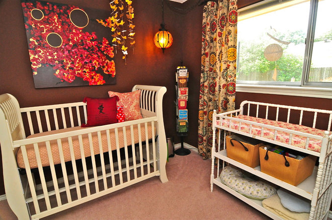 Eclectic Nursery by Valerie McCaskill Dickman