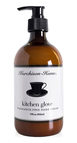 Murchison-Hume - Murchison-Hume  Kitchen Glove Unscented Hand Cream - You only wanted to taste your dinner, right? Our fragrance-free formula provides invisible protection for hands while cooking or handling food. Blended with Natural Seed oils and Shea butter to nourish and protect skin. Bon Appetite!