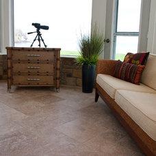Modern Floor Tiles by Natural Stone Veneers International, Inc.