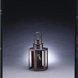 Northeast Lantern - Hardwick Dark Antique Brass One-Light Outdoor Wall Light with Clear Glass - -Clear Glass  -Northeast Lantern offers a distinctive collection of early American and Colonial reproduction lighting that is hand crafted in New Hampshire for a lifetime of beauty.  -The fixtures are made of solid brass and copper. They  are cut fitted soldered finished and wired by hand in New Hampshire. Northeast Lantern - 3021-DAB-MED-CLR