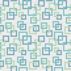 Contemporary Tile by Mosaic Loft