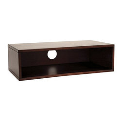 Ballard Designs - Original Home Office Low Hutch - Felt pads on bottom protect surfaces. Designed to coordinate with our best-selling Office Designs collection, this Rectangular Monitor Stand is designed to rest on your desktop, raising your monitor to a comfortable working height while adding additional storage beneath for your keyboard or supplies.Rectangular Monitor Stand features: .