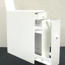 Contemporary Bathroom Cabinets And Shelves Bathroom Floor Cabinet