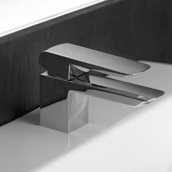 Toto Soiree SingleHandle Single Hole Faucet - This sleek, single-lever faucet is serene and stylish, and uber-functional. It's low-profile allows you to set a medicine cabinet a bit closer to the countertop as well.
