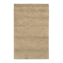 """Surya - Surya Metropolitan Hand Woven Beige Plush Wool Square Rug, 18"""" x 18"""" - We think this is the thickest shag rug in the industry. We have added more wool to our best selling Aros Collection and came up with Metropolitan. The added wool is a thinner yarn denier than the felted wool and it makes the rug less contemporary and more transitional. With 1% New Zealand Wool, 6 fashion colors and a wide variety of sizes we think we have a new best seller in Metropolitan. Imported.Material: 100% New Zealand WoolCare Instructions: Blot Stains"""
