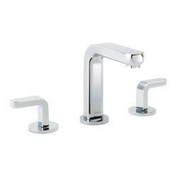 Hansgrohe - Hansgrohe Metris S Widespread Lavatory Faucet, Chrome (31067001) - HansGrohe 31067001 Metris S Widespread Lavatory Faucet, Chrome
