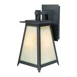 Vaxcel - Prairieview Oil Rubbed Bronze Outdoor Wall Sconce - Vaxcel T0023 Prairieview Oil Rubbed Bronze Outdoor Wall Sconce