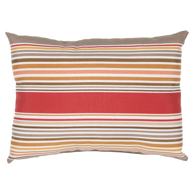 "Jaipur - Jaipur VER37 Pillow, 13""x18"" - These fashion forward pillows, in trellis, stripes and whimsical patterns are for both indoor and outdoor use."