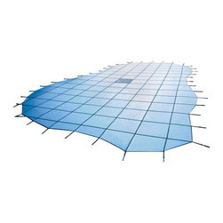 Blue Wave - Blue Wave 20ft x 40ft CES 15Yr Ultra Solid Blue - Blue - 15-year Arctic Armor ultra light solid safety cover combines super strength with ultra light fabrics to make removing this cover a snap! our lightweight solid safety covers contain super strong fabric that provides ultra light safety covers with its superior strength and ultra light characteristics. Ultra light covers resist tears, rips, chlorine and sun damage and ensure that your pool is crystal clear when you open it each spring. Ultra light is over 35% lighter than other solid covers so it is easy to install and remove. The patented center drain catches the finest dirt and debris, but still allows the cover to drain. This eliminates the hassle of pumping off your cover each spring. Since ultra light is solid no algae can grow and your pool will remain clear all winter long! ultra light covers are supported by super strong webbing that makes this cover ultra strong as well as lightweight. These solid covers are made of rugged two-ply polypropylene mesh with a break strength of over 4000 lbs.! covers are formulated to be impervious to UV rays, mold and mildew. Covers are 2 feet longer and 2 feet wider than your pool and come complete with brass anchors, stainless steel springs, installation tool, storage bag and complete installation instructions. Built for superior performance and longevity, ultra light is backed by a 15 year warranty. Available in blue, green, tan and gray. Available with or without step sections.