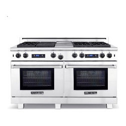 """American Range 60"""" Medallion Range, Stainless Steel 