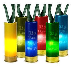 Multi-Color Shotgun Shell Lights - (35) Bulbs - Multi-Color Shotgun Shell Lights