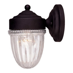 Savoy House - Exterior Collections Jelly Jar Wall Mount - Decorate your favorite outdoor spaces to bring a sense of style Al Fresco!