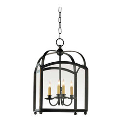 Arch Top Lantern - This lantern seems like the perfect fit for a traditional space. Or go big with the large size for some drama.