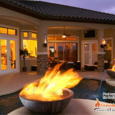 Modern Hot Tub And Pool Supplies by CJ's Home Decor & Fireplaces