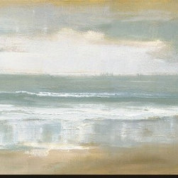 Artcom - Shoreline by Caroline Gold - Shoreline by Caroline Gold is a Stretched Canvas Print.