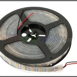 Double Row 12V DC 600X 5050 Waterproof IP67 Flexible LED Strip lights - 120 LEDs - This is single color super bright 5050 SMD(SMD:Surface Mounted Devices) waterproof IP67 LED flexible strip lights , 6 chip , 120LEDs/M, Available in 5 meters (197 in ) lengths.