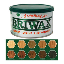 Briwax Original Furniture Wax 16 Oz - Antique Mahogany - Note: Briwax may turn into liquid in hot weather during transportation in a hot delivery truck, therefore do not open immediately upon its arrival. This in no way diminishes the quality of the product. Simply allow the container to come to room temperature to return to a paste form.