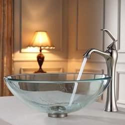 "Kraus - Kraus KEF-15000-PU-10CH Chrome Exquisite Ventus Single Hole Vessel - Product Features:Fully covered under Kraus  limited lifetime warrantyAll-brass faucet constructionHigh-quality, corrosion and rust resistant triple-plated finish - finish covered under lifetime warrantySingle handle operationTall design for use with vessel (above-the-counter) sinksADA compliantLow lead compliant - complies with federal and state regulations for lead contentDesigned to easily connect to standard US plumbing supply bibsExtra secure mounting assemblyAll necessary mounting hardware includedProduct Technologies and Benefits:Precision Kerox Cartridges: The cartridge's job is to deliver smooth handle operation and water flow, throughout hundreds of thousands of uses, without ever leaking – all while under a punishing 60 pounds-per-square-inch of pressure. For these reasons, it is quite literally what ""makes or breaks"" the faucet. Kraus understands this, so they take no shortcuts here, importing their cartridges from the world's leading manufacturer of high-end precision ceramic disc cartridges, Kerox in Hungary.Swiss-Made NeoPerl Aerators: Aerators are possibly the most under-appreciated component within faucets. Not only do they soften the stream (preventing splashing), but they also control the straightness, diameter, overall delivery of water. Fortunately, like their cartridges, Kraus recognizes this and chooses to takes no gambles here – they import their aerators from NeoPerl in Switzerland, the world's leading manufacturer for high-end and specialty aerators.Heavily Certified: Kraus has gone to great lengths to be able to provide you, the homeowner, the rest-easy satisfaction knowing that your faucet is certified and listed by all the major product testing boards in the US and Canada. This means that this faucet is deemed safe to use and"