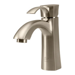 MR Direct - MR Direct 725-BN Brushed Nickel Vessel Faucet - The 725-BN Single-Handle Vessel Faucet is a smaller variant of the 726 model, featuring the same expressive styling and simple functionality. Graceful and compact, the 725-BN is constructed from solid brass, repeatedly tested for proper  performance, and approved by the ADA. It is available in a choice of brushed nickel, chrome, or oil-rubbed bronze finishes and comes with our limited lifetime warranty.