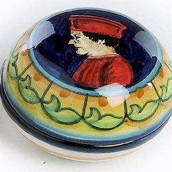 Artistica - Hand Made in Italy - Urbino: Jewelry Box Duca (Duke) - Deruta Vario Collection: