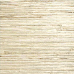 Qi Taupe Grasscloth Wallpaper - Cover your walls with the beauty of natural sea grass, woven and knotted together in an eco-chic grasscloth texture.