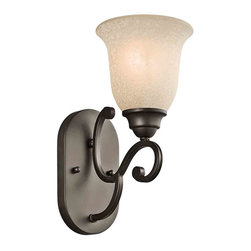 Kichler Lighting - Kichler Lighting 45421OZ Camerena Olde Bronze Wall Sconce - Kichler Lighting 45421OZ Camerena Olde Bronze Wall Sconce