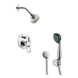Remer - Contemporary Sleek Shower Faucet with Handheld Shower - Multi function shower faucet.