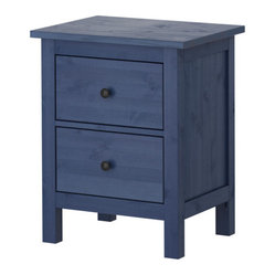 Hemnes Chest with 2 Drawers, Blue