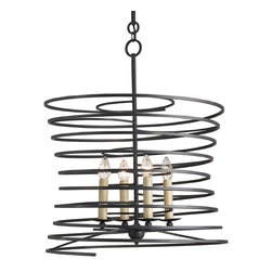 Currey and Company - Currey and Company 9204 Nebula Contemporary / Modern Chandelier - Currey and Company 9204 Nebula Contemporary / Modern Chandelier