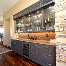 Contemporary Kitchen Cabinets by Venuti Woodworking