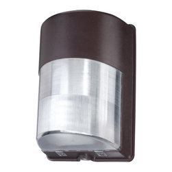 Eurofase Lighting - Eurofase Lighting 23256 Architectural Half Cylinder Exterior Utility Light - Useful and efficient, this utility light is a intelligent choice for your needs. Eurofase Lighting is one of the few companies that still employs artisans capable of creating this hardy utility light featuring incandescent or fluorescent bulbs.Features: