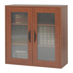 Safco - Safco Apres Modular Storage 2 Door Cabinet in Cherry - Safco - Computer Desks - 9442CY - About this product: Your workspace is always changing, so when it does make sure it changes in style! With Apres Modular Storage you can change your organization and storage options as you need them. Apres works great in executive offices, managers offices, reception area, conference room, media center or training room. Use them together or individually to get the perfect amount of storage options. Additionally use pieces separately in lounge areas, home or work office, classroom or library. And if you ever need more storage space easily add another Apres!
