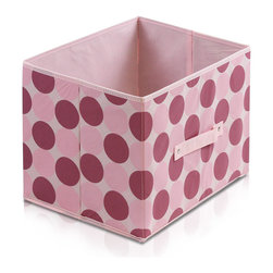 Furinno - Furinno Laci 111 Soft Storage Organizer, Pink - These bins are simple and stylish in design yet functional and suitable for any room and for any age. These colorful and fun bins are perfect for cutting down on clutter and at the same time added some joyful atmosphere to your space with its thoughtful fun design. These soft storage bins are easily pull out of your storage space thanks to the sewn in handle. Durable, eye-catching and easy to use. Furinno thinks of ways to fit in your space and fit on your budget.