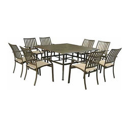 Panama Jack Island Breeze 9-Piece Dining Set