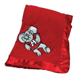Collegiate Delight - University of Alabama Blanket - Let your school spirit show with these officially licensed collegiate baby blankets. These embroidered coral fleece blankets with matching satin trim are super soft to the touch and perfect for your future graduates and athletes.