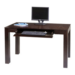 Avenue Six - Avenue Six Plaza Wood Laptop Desk in Espresso - Avenue Six - Computer Desks - PZA25ES - Avenue Six is committed to the development of innovative fashion forward designs that provide unsurpassed quality and seating comfort. The contemporary yet classically designed Plaza collection exemplifies our dedication to this endeavor. Ideal for use in the home or office reception area the Plaza's eye-catching design provides all the convenience and value that only RTA can provide.