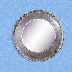 Bassett Mirror - Ursula Wall Mirror - Silver Leaf - M2756B - Ursula Collection Wall Mirror