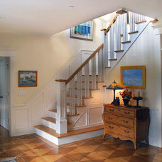 Traditional Staircase by Tallman Segerson Builders