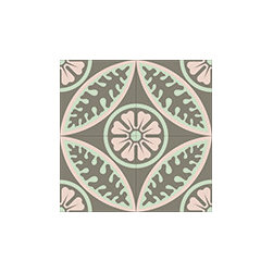 """"""" Alpine Rose"""" Encaustic Cement Tiles - Rustico Tile and Stone. We offer wholesale Prices and global Shipping.  Contact us for a quote.  Make Every Space Count!"""