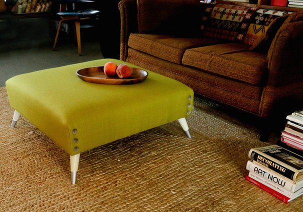 Industrial Family Room by Upholstery Club's Shelly Leer