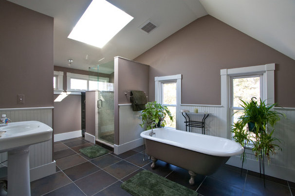 Traditional Bathroom by Meadowlark Builders