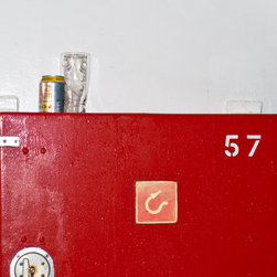 PrintedArt - In case of emergency - Print is made with archival pigment inks for best color saturation and contrast with a 75-year guarantee against fading or discoloring. Mounted on light-weight but rigid aluminum dibond board to create a float-on-the-wall piece of art. Also available face-mounted with acrylic.
