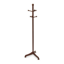 Winsome - Coat Tree with 6 pegs - Offer your guests a place to hang their hat with this attractive coat rack. Features 6 pegs for holding coats, scarves, hats and more.