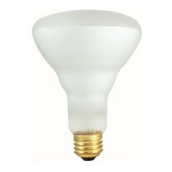 Bulbrite - Incandescent Indoor Reflector Clear Light Bul - One pack of 12 Bulbs. 130 V E26 base BR30 bulb type. Dimmable. Spot degree beam spread. Ideal for indoor residential and commercial use in recessed and track lighting. Perfect for recessed cans, rack lighting and wall washing. Wattage: 50 W. Lumens: 285. Color temperature: 2700 K. Average hours: 5800. Color rendering index: 100. Center beam candle power: 457. Maximum overall length: 5.13 in.