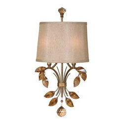 Uttermost 22487 Alenya Wall Sconce - 11.6W in. Burnished Gold - About Uttermost The mission of the Uttermost Company is simple: to make great home accessories at reasonable prices. This has been their objective since founding their family-owned business over 30 years ago. Uttermost manufactures mirrors, art, metal wall art, lamps, accessories, clocks, and lighting fixtures in its Rocky Mount, Virginia, factories. They provide quality furnishings throughout the world from their state-of-the-art distribution center located on the West Coast of the United States.