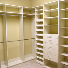 traditional closet by Artisan Closets and Trim Inc