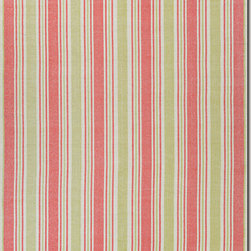 Couristan - Couristan Bar Harbor Bar Harbor, Raspbry Lemonade, 8'x10' Rug - For a relaxed-casual look that instantly creates an atmosphere of welcoming fun, the Bar Harbor Collection delivers a cheery array of striped designs that infuse any interior with a refreshing verve. Perfect for homes with a coastal living design influence, these bright and bold fashions add an exciting pop of color that enlivens spaces and brings a sense of charm. With whimsical names, like Lillipop, Lemon Drop and Gelato, decorators are sure to find a sweet spot for all nine Bar Harbor colorways. Flatwoven of soft 100% cotton, Bar Harbor area rugs are both reversible and machine-washable, making them an ideal selection for busy areas of the home such as kitchens, dining areas and even kid's rooms. Hand-woven with all-natural materials, these biodegradable area rugs also have an eco-chic appeal and can be incorporated into homes with a 'green' theme.
