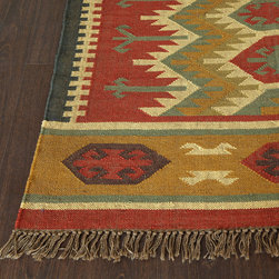 Kilims - Vintage kilims are the just ticket. Place them on your floor, hang them a wall, or use one as a tablecloth! Their only limit is your imagination!