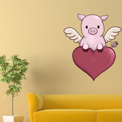 Holiday Valentines Day Vinyl Wall Decal HolidayValentinesDayUScolor012; 12 in. - Vinyl Wall Decals are an awesome way to bring a room to life!